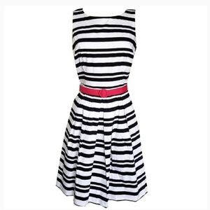White House Black Market Horizontal Stripe Dress